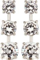 FANTASIA CZ Triple-Stone Gradient Dangle & Drop Earrings