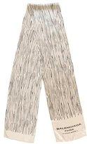 Balenciaga Printed Woven Scarf