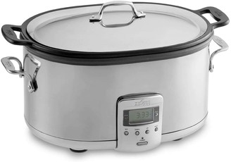 All-Clad 7-Quart Slow Cooker with Aluminum Insert