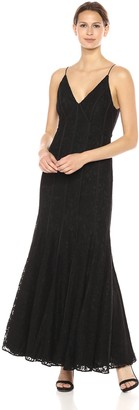 Keepsake Women's Dreamers Lace Fitted Maxi Dress Sleeveless Gown