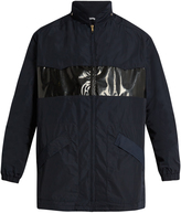 Tomas Maier Oversized contrast-panel parka