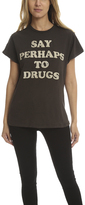 madeworn rock MadeWorn Say Perhaps To Drugs Tee
