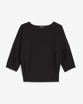 Express Pleated Sleeve Top