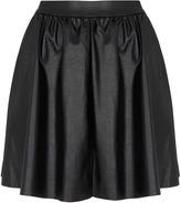 Topshop Black Full Skater Skirt