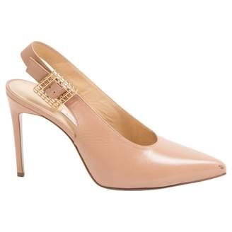 BEIGE Bionda Castana Leather Heels