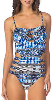 Kenneth Cole Reaction One-Piece Printed Swimsuit