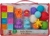 Infantino Balls/Blocks/Buddies Activity Toy Set