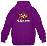 Sofia Men's San Francisco 49ers Football Logo Hoodies L