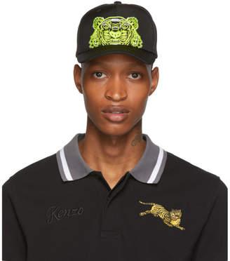 Kenzo Black Limited Edition High Summer Tiger Cap