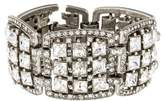 Ben-Amun Ben Amun Square Crystal Links Bracelet