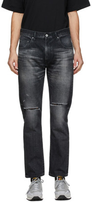 Neighborhood Black Washed C-PT Skinny Jeans