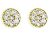 Jennifer Meyer diamond circle stud earring