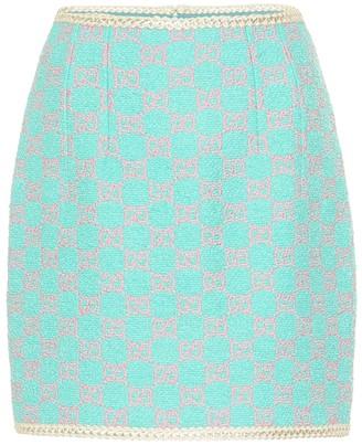 Gucci GG tweed miniskirt