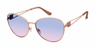 Nanette Lepore Women's NN272 UV Protective Aviator Sunglasses