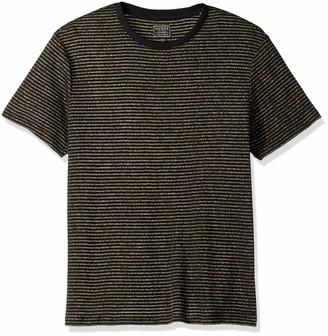 GUESS Men's Short Sleeve Satellite Crew Neck Shirt