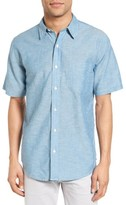 Faherty Men's Breezecloth Ventura Trim Fit Sport Shirt