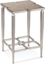 Bassett Mirror Company Christie Accent Table in Silver