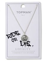 Topman Silver Skull Necklace*