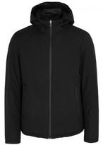 Herno Black Reversible Shell Jacket