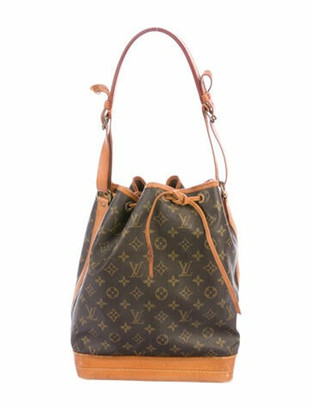 Louis Vuitton Vintage Monogram Noe GM Brown