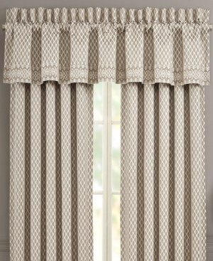 J Queen New York Five Queen Court Beaumont Straight Valance Bedding