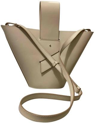 Carolina Santo Domingo White Leather Handbags