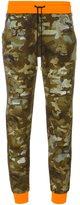Versus camouflage sweatpants