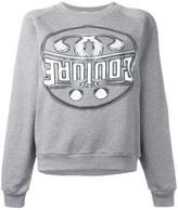 Moschino double question mark sweatshirt - women - Cotton - S