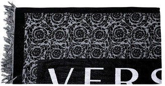 Versace Logo Beach Towel