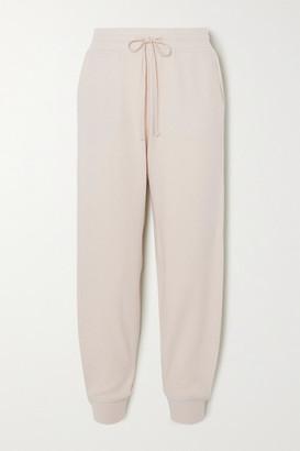 Vince Cozy Fleece Track Pants - Off-white