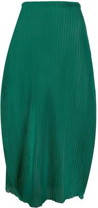 Jil Sander High-Waisted Midi Skirt