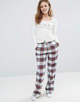 Jack Wills Holidays Flannel Pajama Pant