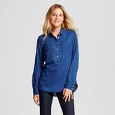 Merona Women's Favorite Shirt Indigo XL