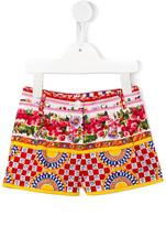 Dolce & Gabbana Mambo print shorts - kids - Cotton - 24 mth