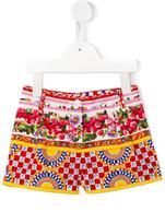 Dolce & Gabbana Mambo print shorts - kids - Cotton - 36 mth