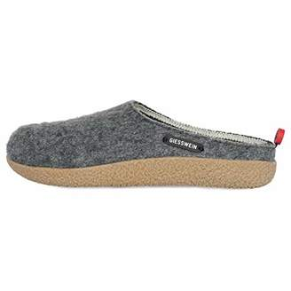 Giesswein Slipper Vorbach 39 - Felt Slippers, Changeable Footbed, Warm Unisex-House Shoe, Mules for Men & Women, Comfortable Slippers Made of Wool with Fixed Sole, Non-Slip, Robust, incl. Tongue