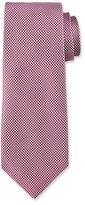 HUGO BOSS Micro-Dot Silk Tie, Mauve