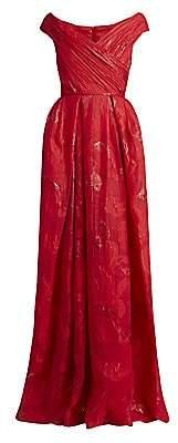 ZUHAIR MURAD Women's El Rocio Jacquard Ball Gown