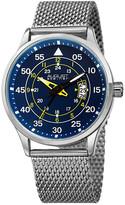 August Steiner Men's Stainless Steel Watch