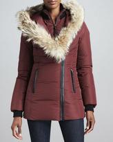 Mackage Adali Fur-Collar Puffer Coat
