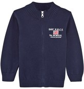 Gant Infant Navy Knit Jacket