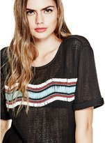 GUESS Beaded Knit Tee