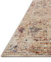 "Loloi Porcia Pb-04 Ivory 2' 8"" x 10' Runner Area Rug"