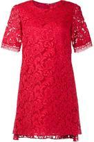 ADAM by Adam Lippes back pleat short sleeve dress - women - Cotton - 2
