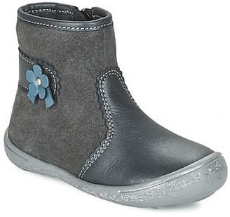 Citrouille et Compagnie FAKARI girls's Mid Boots in Grey