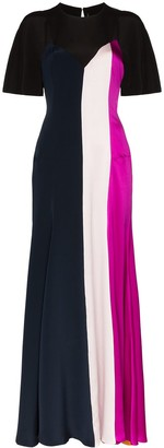 Roksanda Emile panelled gown