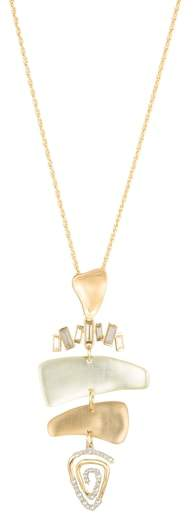 Alexis Bittar Spiral Mobile Pendant Necklace