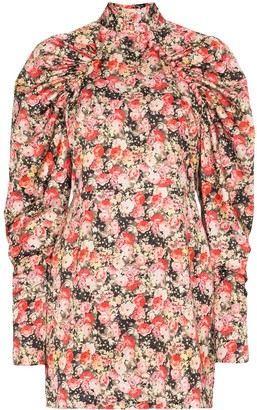 Rotate by Birger Christensen Kim floral mini dress
