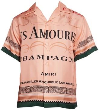 Amiri Les Amoureux Button-Up Shirt