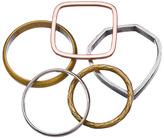 Bing Bang Teardrop Mixed Ring Set